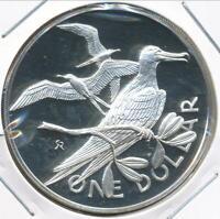 British Virgin Islands, 1974 Dollar, $1 (Silver) - Proof