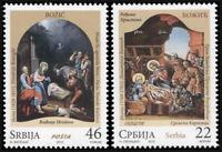 Serbia. 2012. Christmas 2012 (MNH OG) Set of 2 stamps
