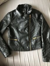 NEW LOOK 10-11 GIRLS PVC LEATHER JACKET