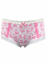 Fa M Ou S High St Store Plain and Lace Low Rise Shorts Knickers Pants Briefs