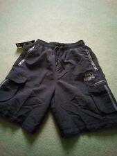 Lonsdale Mens 2 Stripe Cargo Shorts Trousers Pants Bottoms Mesh Drawstring