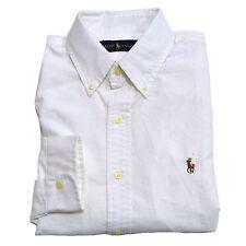 Polo Ralph Lauren Shirt Mens Standard Fit Oxford Long Sleeve Buttondown New Nwt