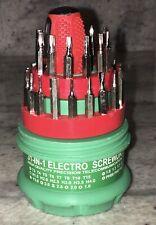 31 in 1  Screwdriver Set Repair Kit Tools Jewelers Watch  Eyeglass Repair