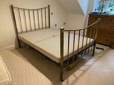 More details for antique brass double bed