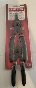Craftsman 2-PC. Combination Snap Ring Pliers Set #37907 New!