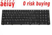 100% Positive for Acer Aspire 5742G 7741G 7750G 7750Z Czech Slovakian Keyboard