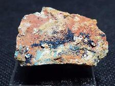 Clinoclase, Cornubite, Olivenite, Majuba Hill, Pershing County, Nevada.