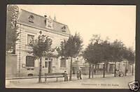 CHATEAUROUX (36) HOTEL DES POSTES animé en1904