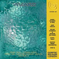 VA-WIZARD-60s Czechoslovakian Rare Jazz/Fusion Gems vol.2-NEW CD