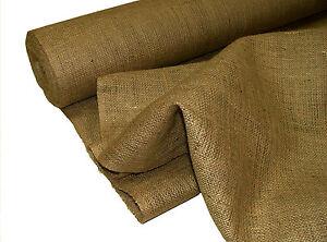 5 Metres Natural Jute Hessian Sack - Upholstery DIY Supplies & Garden Use