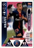 2018-19 Topps UEFA Champions League Match Attax Rising Stars - Pick A Card