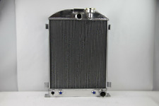 """3 ROW Aluminum 1935-1936 Ford Radiator CHEVY-V8-Engine 28"""" Inch High w/Cooler"""
