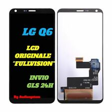 DISPLAY LCD+TOUCH SCREEN ORIGINALE LG PER Q6 M700 LGM700A VETRO NERO FULLVISION