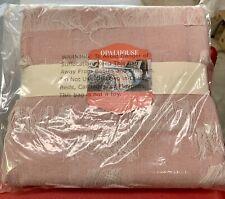 """""""New"""" Eyelash Bed Throw Blush Pink Opalhouse Blanket Acrylic Woven Fringe"""