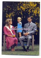 pq0047 - Princess Diana , Prince Charles and baby Prince William - postcard