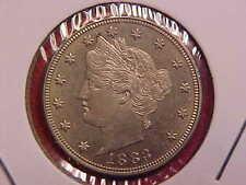1883 LIBERTY NICKEL - WITH CENTS - UNC - SEE PICS! - (N9306)