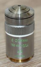 Leitz Mikroskop Microscope Objektiv EF 100/1,25 Oel Phaco 3 (519806)