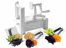 FREE Postage! - Spiralizer Fruit & Vegetable Slicer / Twister / Chopper