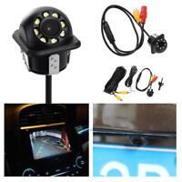 Waterproof 8 LED Car Backup Rear View Reverse Parking HD Camera IR Night Vision