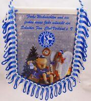 Wimpel Banner + FC Schalke 04 + Frohe Weihnachten + Fan Edition Erwin SFCV (55)
