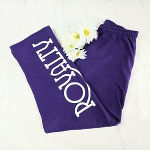 Gildan Women's Purple Royalty Sweatpants Size Large