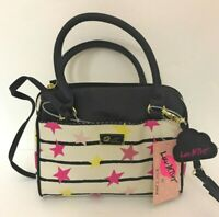 Betsey Johnson, Luv Betsey, Mini Barrel Bag; MIDNIGHT LBHARLET $58 -NWT