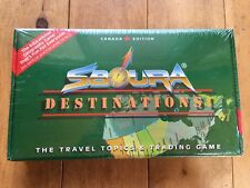 Sboura Destinations - The Travel Topics & Trading Game - Canada Edition SEALED!