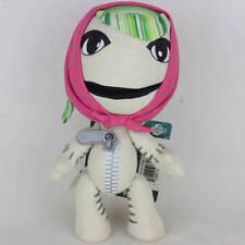 """Little Big Planet Game Female Sackboy 7"""" Plush Toy cuddly Stuffed Animal Doll"""