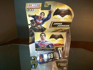 Jimmie Johnson #48 Lowe's Superman Vs Batman 2016 Chevrolet SS Authentics 1:64