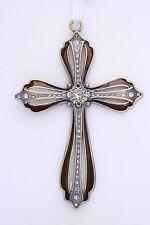 Luxury Metal Cross / Pearl - Diamond Decoration -- Large -- CR16 -- On Sale