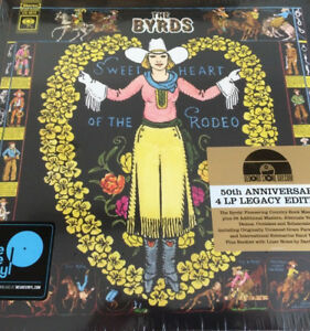 THE BYRDS SWEETHEART OF THE RODEO (LEGACY EDITION) BOX 4 LP BLACK FRIDAY 2018