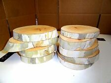 "CAMO 9 Pieces 6 8"" Log Slices Wood Rustic Wedding Centerpiece Coaster CAMOUFLAGE"
