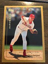 1999 Topps Aaron Sele Texas Rangers 86