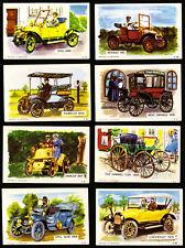 8 DANDY KAUGUMMI SAMMELBILDER 60s OLDTIMER DENMARK BUBBLE GUM CHEWING GUM CARDS