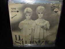 """NINI ROSSO il silenzio / ho bisogno di te ( world music ) 7""""/45 picture sleeve"""