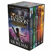 NEW Percy Jackson Ultimate Collection 5 Books Gift Boxed Book Set Rick Riordan!