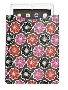 Vera Bradley Slim Tablet Sleeve Blossoms NWT Free ship U.S.