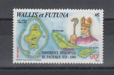 TIMBRE STAMP  1 WALLIS & FUTUNA Y&T#163 RELIGION CARTE NEUF**/MNH-MINT 1988 ~R12
