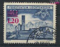 Liechtenstein 310 gestempelt 1952 Aufdruckausgabe (9029950