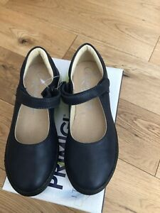 Girls Primigi Leather Navy School Shoe Size EU 31 UK 12