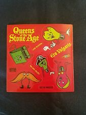 RARE QUEENS OF THE STONE AGE ERA VULGARIS RECORD RELEASE STICKER SHEET