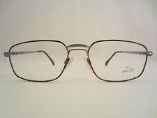 Jaguar Mod.3491-126 Brille Silber/rot Glasses Lunettes Fassung