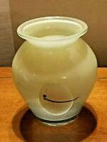 Collectible Hand Blown Art Glass Vase Studio/Handcrafted
