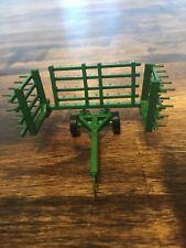 1/64 Scale Custom Green 20ft Harrow Farm Toy