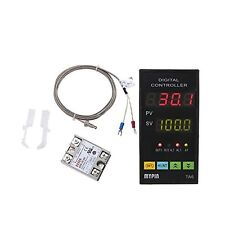 MYPIN Universal Digital TA6-SNR PID Temperature Controller with Relay DIN 1/8...