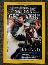 National Geographic Magazine September 1994 With Map of Mexico,  Ireland, Japan
