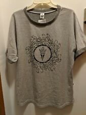 Arizona State Sun Devils Men's Large Gray Short Sleeved Shirt NWT