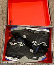 Air Jordan 4 Retro Motorsport Alternate Black/Royal Size 12 Mint