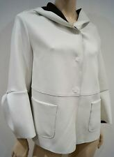 SCHUMACHER Winter White Hooded Long Sleeve Casual Hoodie Jacket Top 4 UK14
