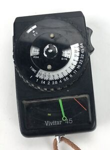 VIVITAR Model 45 Incident and Reflected Light Meter